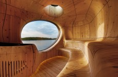 Spectacular saunas that make us want to take our clothes off