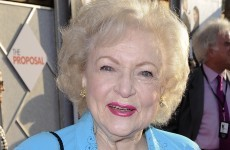 Betty White joins Timberlake and Kunis as a Marine's dream date