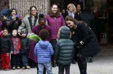 Children meeting Kate Middleton in New York thought she was Elsa from Frozen