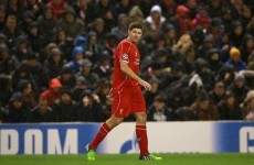 The brilliant Steven Gerrard free-kick that gave Liverpool late hope tonight