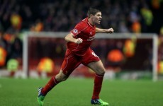 Gerrard: We don't deserve to still be in the Champions League