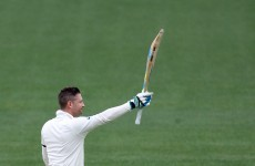 Michael Clarke's century was a perfect tribute to friend and team-mate Phillip Hughes