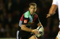 Nick Evans and Chris Robshaw will miss Harlequins' trip to Dublin