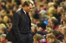 Rodgers has three games to save his job as Liverpool's season falls apart