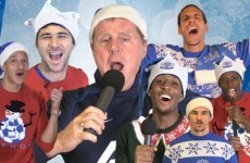 Harry Redknapp miming 'Merry Christmas Everybody', what more could you want to get into the festive spirit?