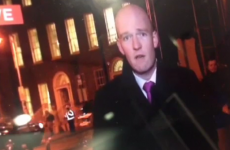 Lad shouts 'F*ck her right in the p***y' live on TV3 news
