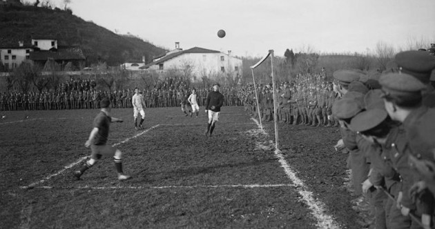 Christmas truce: How football on the front was used by soldiers on all sides