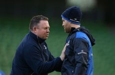 O'Connor excited to see 'incredibly dangerous' Fitzgerald at 13 for Leinster
