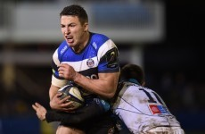 Sam Burgess did Sam Burgess things in Bath's bonus point win against Montpellier tonight