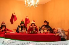 Single sister responds to being left out of the family Christmas card in the best possible way