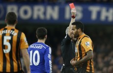 Chelsea maintain three point lead but were given helping hand by Tom Huddlestone's nasty stamp
