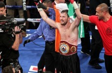 'If he'd managed to hold on, I'd have punched myself out' – Andy Lee