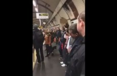 Watch London commuters break out into a spontaneous Erasure singalong on the Tube