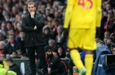 Rodgers dismisses reports of player unrest at Liverpool as 'totally untrue'