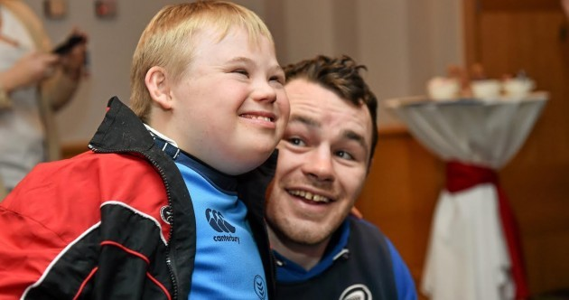 Take me to Church: Leinster stars greet children from trio of charities