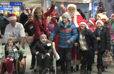 """The true meaning of Christmas"": Children from Chernobyl arrived in Ireland today"