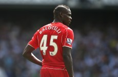 Balotelli given one-match ban over racist post