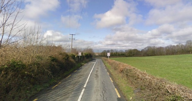 A 72-year-old cyclist was killed in a car crash this morning