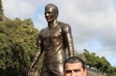 Everyone's thinking the same thing about Ronaldo's new statue