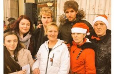 Kodaline performed outside the GPO with the High Hopes Choir today
