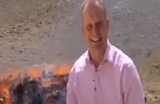 BBC reporter gets incredibly high on burning drugs, giggles uncontrollably