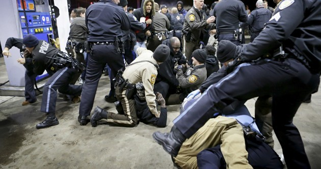 'Bad choices were made': Clashes as police confirm black teenager shot dead near Ferguson
