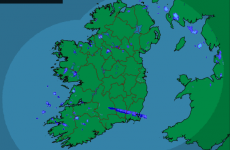 Look at that! A clear, crisp, cold Christmas Day in Ireland