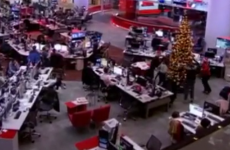 The BBC had the right idea about how to get through working on Christmas Day