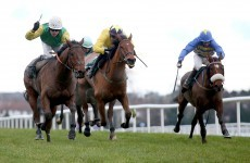 Day of tight finishes as Living Next Door lands the Paddy Power Chase at Leopardstown