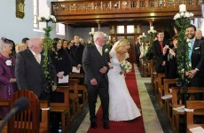 Here's the lovely moment an Irish bride discovers her brother is home for her wedding