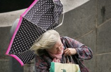 Cancel that walk. New Year's Day kicks off with status yellow weather warning