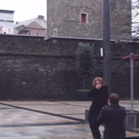 Derryman enlists friends and family for adorable Christmas proposal