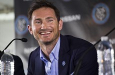 New York City fans aren't best pleased with Frank Lampard's decision to snub the MLS franchise