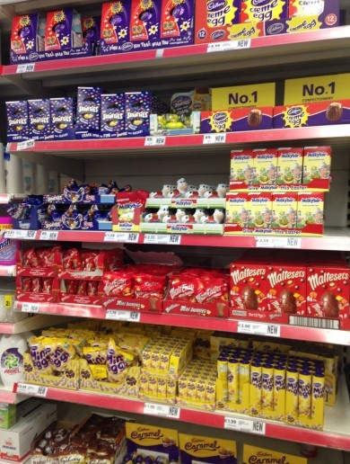 Tesco is already selling Easter eggs