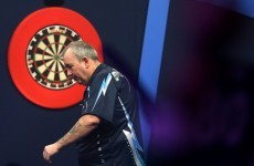 Was Phil Taylor an appallingly bad loser or just a little bit thirsty?