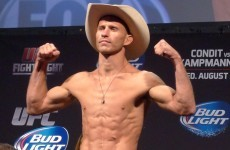 Two weeks after his latest win, 'Cowboy' saddles up for action at UFC Boston