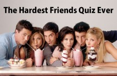 The Hardest Friends Quiz Ever