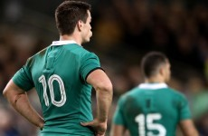 Who's in prime position to wear Ireland's 10 shirt in Sexton's absence?