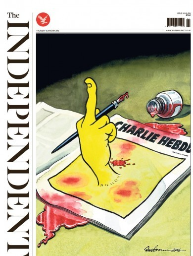 Sadness and defiance: How front pages covered the Charlie Hebdo massacre