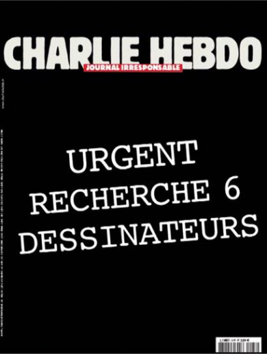 The rumoured new Charlie Hebdo cover everyone is sharing? It's a fake