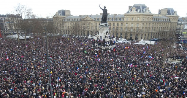 'Ink should flow, not blood': Up to 1.6 million people attend 'unity' rally in Paris