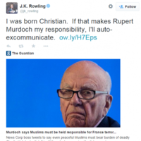 JK Rowling just took Rupert Murdoch down a peg in one fell swoop