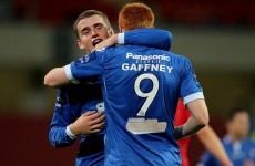 Rory Gaffney is the latest League of Ireland graduate but he's after further honours at Cambridge
