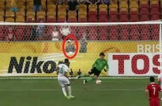 Ball boy hailed as China's lucky charm after telling goalkeeper how to save penalty