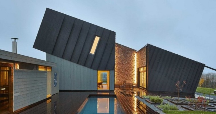 This gorgeous eco-friendly house produces more than 3 times the energy it needs