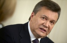Ukraine's former president is now on Interpol's most wanted list