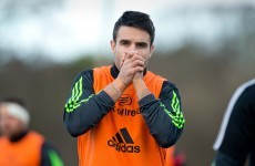 Munster awaiting scan result as Conor Murray sits out training with neck injury