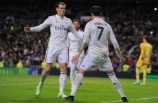 Ronaldo urges Real Madrid fans to back Gareth Bale