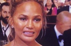 Chrissy Teigen's cryface is the internet's greatest meme from the Golden Globes