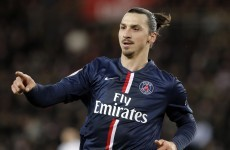 Zlatan Ibrahimovic scored one of the most controversial goals of his career last night